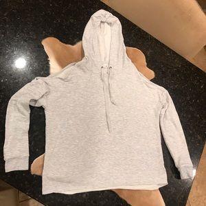 American Eagle Soft& Sexy Cold Shoulder Sweatshirt